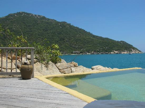 Six Senses Ninh Van Bay: Vue de la piscine Rock Villa 4