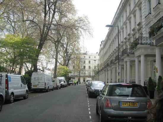 Kensington Court Hotel Notting Hill: viale