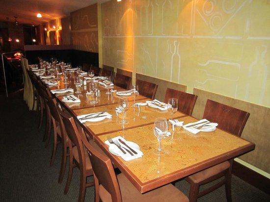 Terrebonne, Canada: Notre table pour 20 personnes