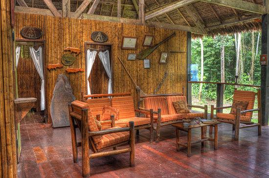 Posada Amazonas: Lobby