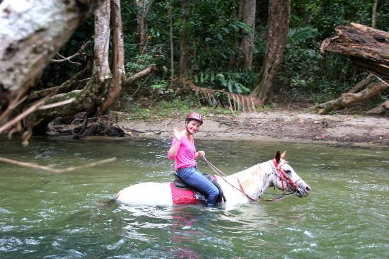 Mount-N-Ride Adventures: Marine and Lily in the Musgrave River