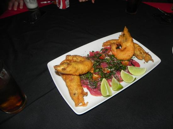 Mayan Bistro: prawns