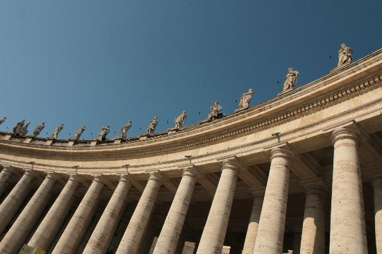 Image result for St. Peter's Basilica colonnade