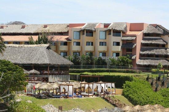 Grand Palladium Vallarta Resort & Spa : Ocean view rooms
