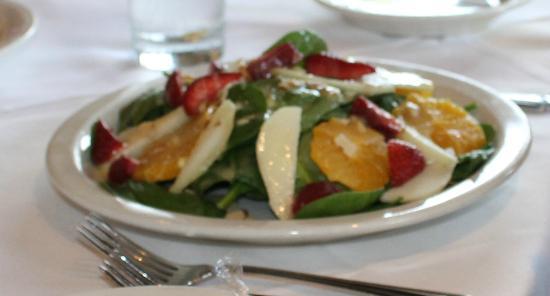 Cafe du Bois: salad plate