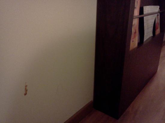 Hotel Ibis Hermosillo: Otras manchas en la pared