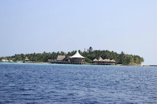 Baros Maldives: View upon arrival