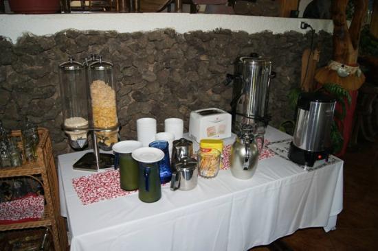 Chez Maria Goretti : Breakfast