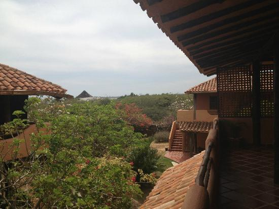 Posada Margarita: View from the balcony
