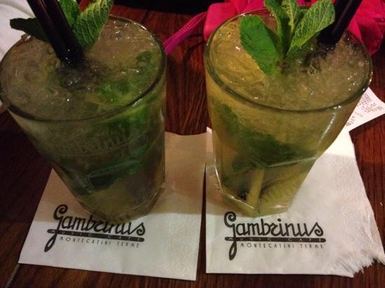 Gambrinus Lounge Cafe' & Restaurant: mojito