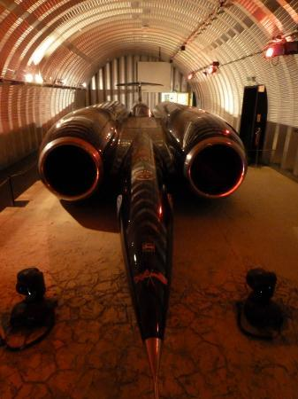 Coventry, UK: Thrust SST Land Speed Record Vehicle