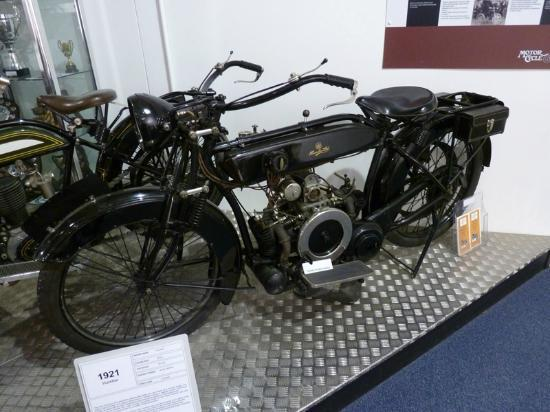 Coventry, UK: 1921 Humber motorcycle