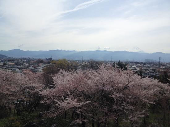 Hotel Kaminoyu Onsen: お部屋からの眺め