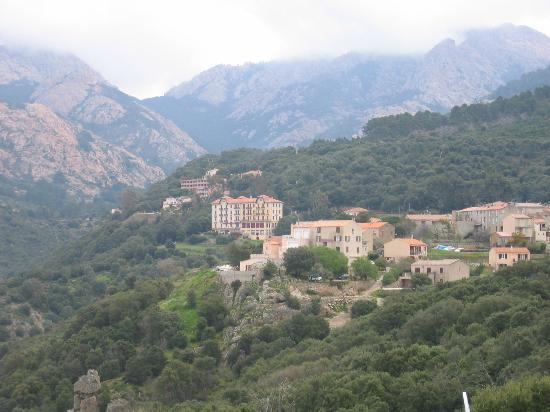 l 39 hotel picture of hotel les roches rouges piana tripadvisor. Black Bedroom Furniture Sets. Home Design Ideas