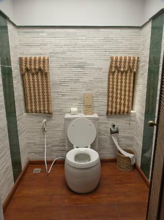 Aureum Palace Resort & Spa Inle : Zona de WC
