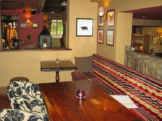 The March Hare: Part of dining area at March Hare