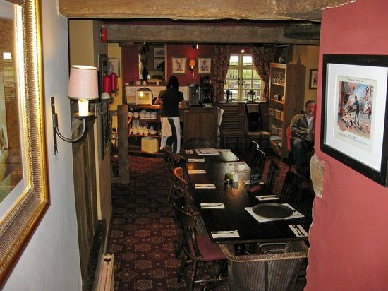 Another dining area at the March Hare