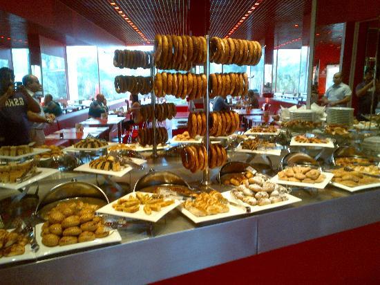 Breakfast Again Buffet Is Generous Picture Of Hotel Su