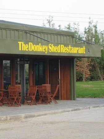 The Donkey Shed Restaurant: Donkey Shed Restaurant at Newbarn Farm Ashbourne