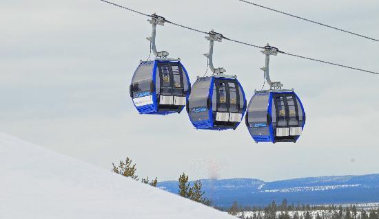Levi Gondola 2000 Cabin Lift Picture Of Levi Ski Resort