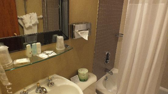 Clarion Hotel Park Avenue: banheiro legal