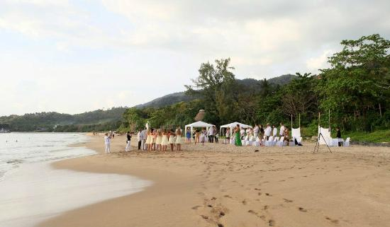 Baan Laanta Resort & Spa: Wedding ceremony