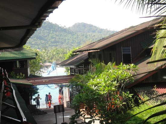 Redang Reef Resort: front view
