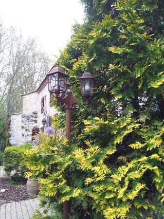 Moulin de Rocquebert: entrée