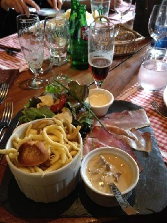 Restaurant de la Marne: spatzles