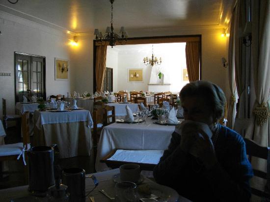 Hotel Parque: La sala ristorante.