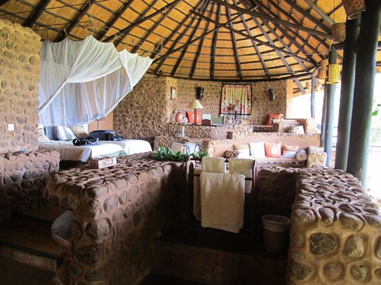 Stanley Safari Lodge: Our room
