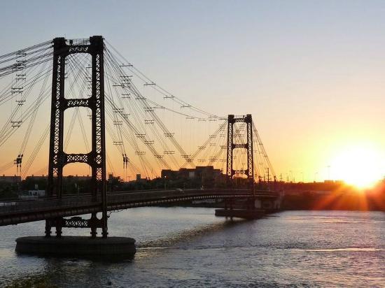 Suspended Bridge: Puente Colgante, Santa Fe, Argentina