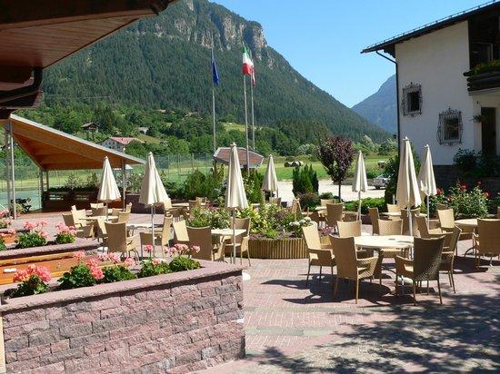 Ziano di Fiemme, Italie: giardino