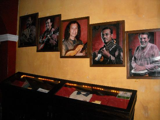La Peña de Sol Latino : the musicians gallery