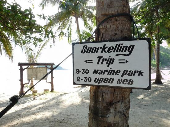 Redang Island: Snorkeling, anyone. Forgive the extra 'L' =)