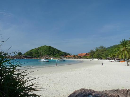 Redang Island: 'South' side of the beach