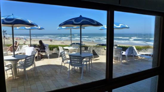 Dunas Praia Hotel: Vista desde piscina