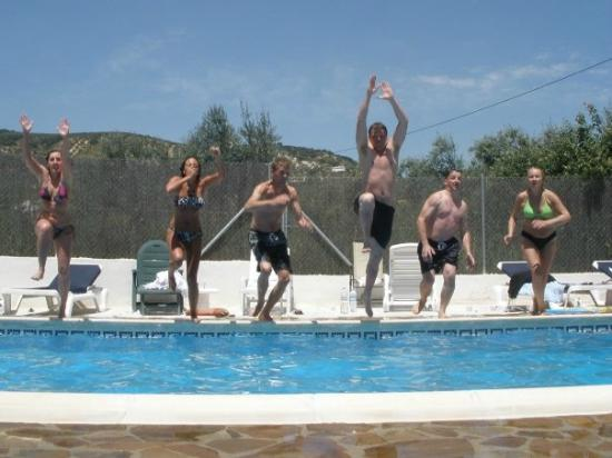 Cortijo Las Olivas: Having fun