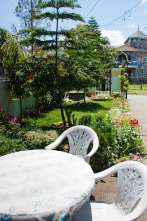 Hotel Celesty: front yard/garden of hotel