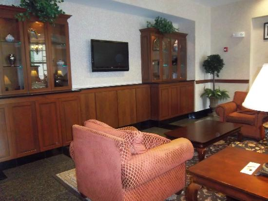 Drury Inn & Suites Charlotte Northlake: Lobby lounge