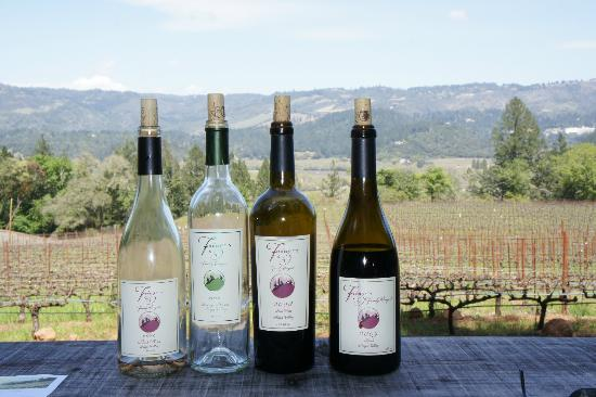 Hidden Napa Jeep Wine Private Tours: Lunch spot at Frias