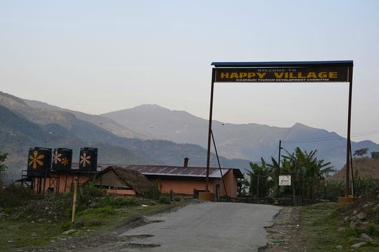 Three Water Tanks With Flowers On That S Where You Want To Be Picture Of Samay Restaurant Pokhara Tripadvisor