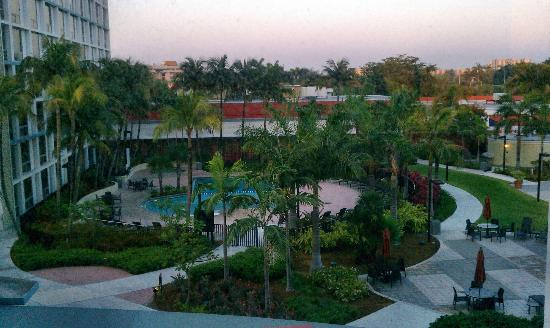 Courtyard by Marriott Miami Airport: Nice pool area in Marriott complex.