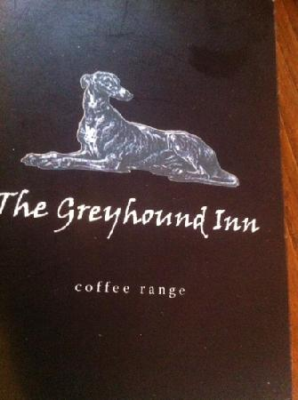The Greyhound: A simple menu