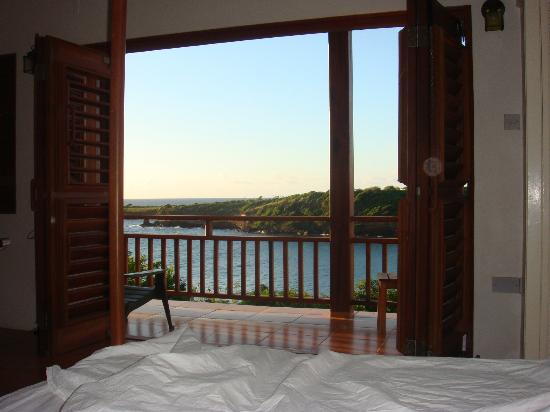 Cabier Ocean Lodge: View from the bed
