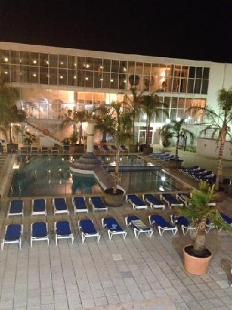 H.TOP Platja Park: view at night from our room