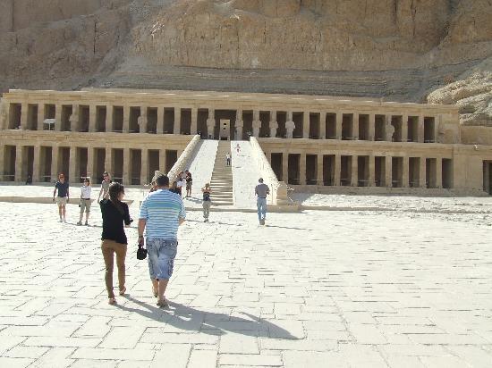 Pyramisa Sahl Hasheesh Resort: Храм царицы Хатшепсут