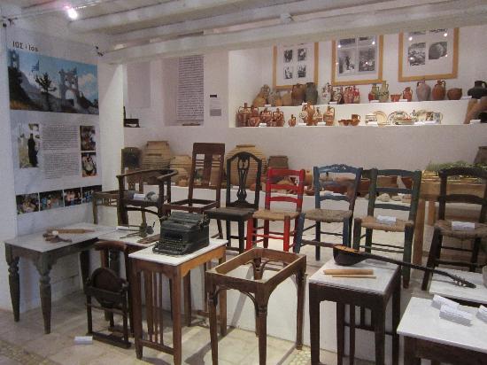 Lefkes Village Hotel: Museum of Popular Aegean civilization