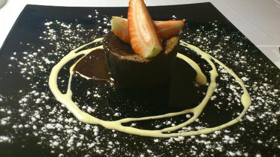 El Boliche del Gordo Cabrera: Coulant de chocolate