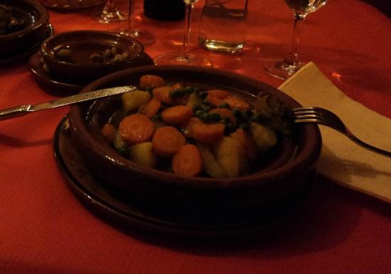 Restaurante Sultan: Tajin di agnello alle verdure